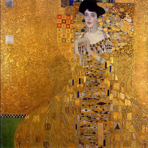 Adele Bloch-Bauer I (1907). Artist: Gustav Klimt Home & Garden > Decor > Artwork > Posters, Prints, & Visual Artwork ArtToyourlife