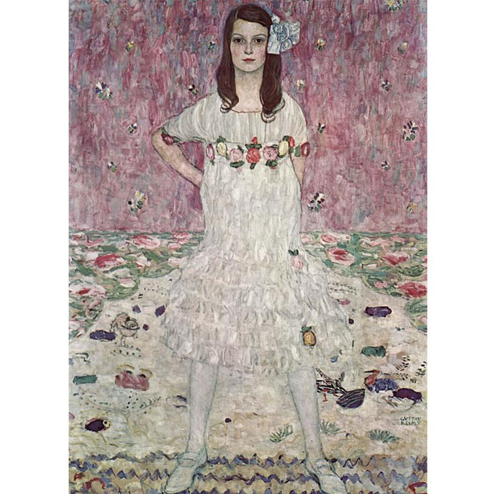 Mäda Gertrude Primavesi (1912). Artist: Gustav Klimt Home & Garden > Decor > Artwork > Posters, Prints, & Visual Artwork ArtToyourlife