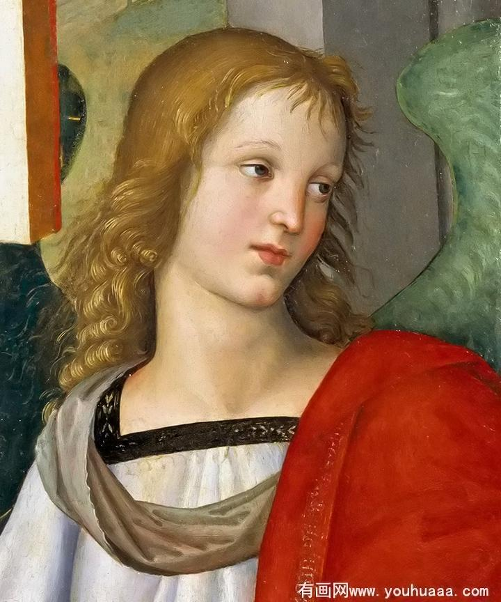 Angel (fragment of the Baronci Altarpiece). Artist: Raphael Home & Garden > Decor > Artwork > Posters, Prints, & Visual Artwork ArtToyourlife