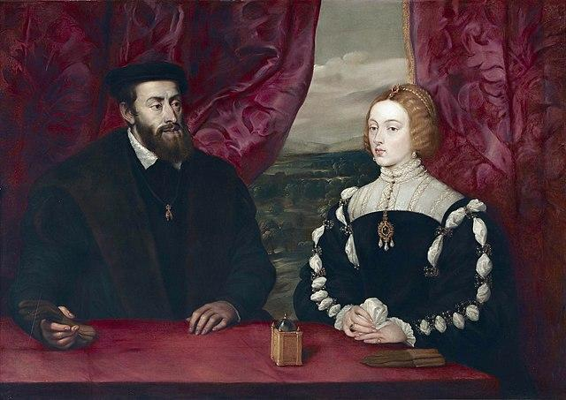 Emperor Charles V and Empress Isabell (17th century). Artist: Peter Paul Rubens Home & Garden > Decor > Artwork > Posters, Prints, & Visual Artwork ArtToyourlife