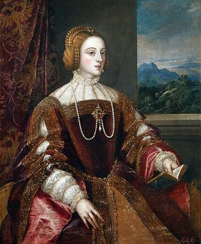 Empress Isabel of Portugal (1548). Artist: Tiziano Vecelli (Titian) Home & Garden > Decor > Artwork > Posters, Prints, & Visual Artwork ArtToyourlife