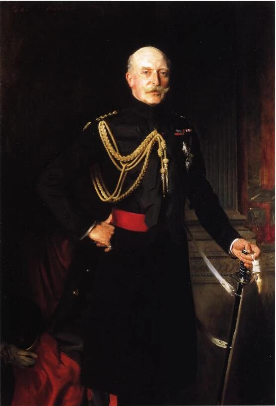 Fiield Marshall H.R.H. the Duke of Connaught and Strathearn. Artist: John Singer Sargent Home & Garden > Decor > Artwork > Posters, Prints, & Visual Artwork ArtToyourlife