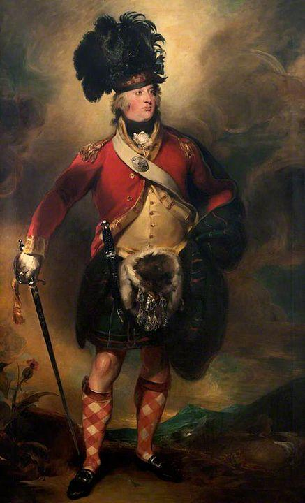 Francis Humberstone MacKenzie of the 78th Highlanders. Artist: Thomas Lawrence Home & Garden > Decor > Artwork > Posters, Prints, & Visual Artwork ArtToyourlife