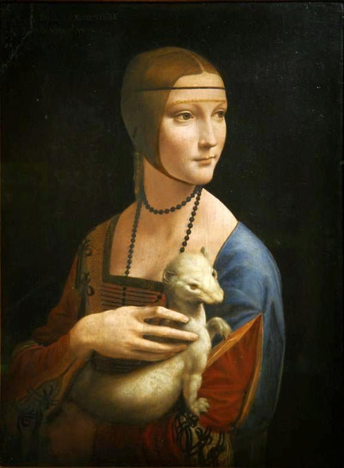 Lady with an Ermine (c. 1489). Artist: Leonardo da Vinci Home & Garden > Decor > Artwork > Posters, Prints, & Visual Artwork ArtToyourlife