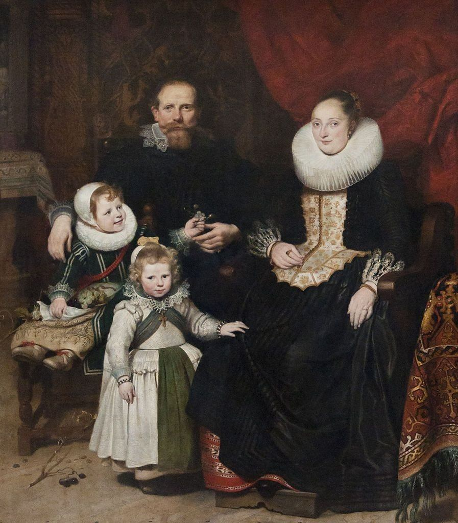 Portrait Of The Artist With His Family (1621). Artist: Cornelis de Vos Home & Garden > Decor > Artwork > Posters, Prints, & Visual Artwork ArtToyourlife