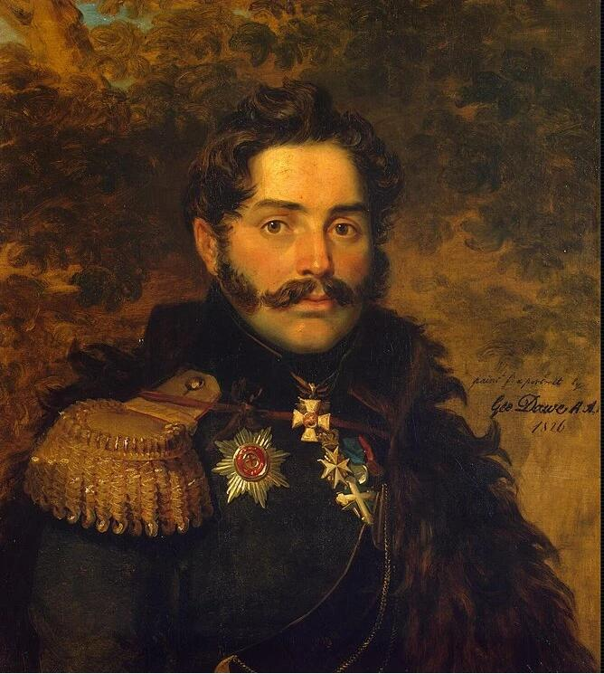 Portrait of Alexander F. Shcherbatov. Artist: George Dawe Home & Garden > Decor > Artwork > Posters, Prints, & Visual Artwork ArtToyourlife