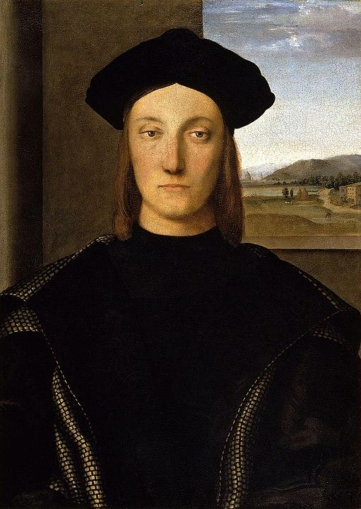 Portrait of Guidobaldo da Montefeltro, (c.1507). Artist: Raphael Home & Garden > Decor > Artwork > Posters, Prints, & Visual Artwork ArtToyourlife
