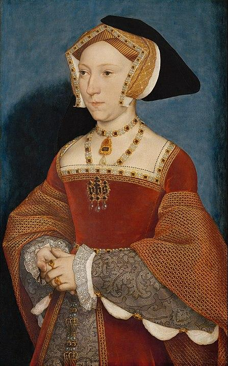 Portrait of Jane Seymour (c. 1537). Artist: Hans Holbein the Younger Home & Garden > Decor > Artwork > Posters, Prints, & Visual Artwork ArtToyourlife