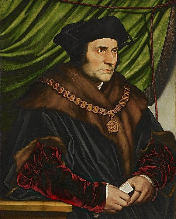 Portrait of Sir Thomas More (1527). Artist: Hans Holbein the Younger Home & Garden > Decor > Artwork > Posters, Prints, & Visual Artwork ArtToyourlife