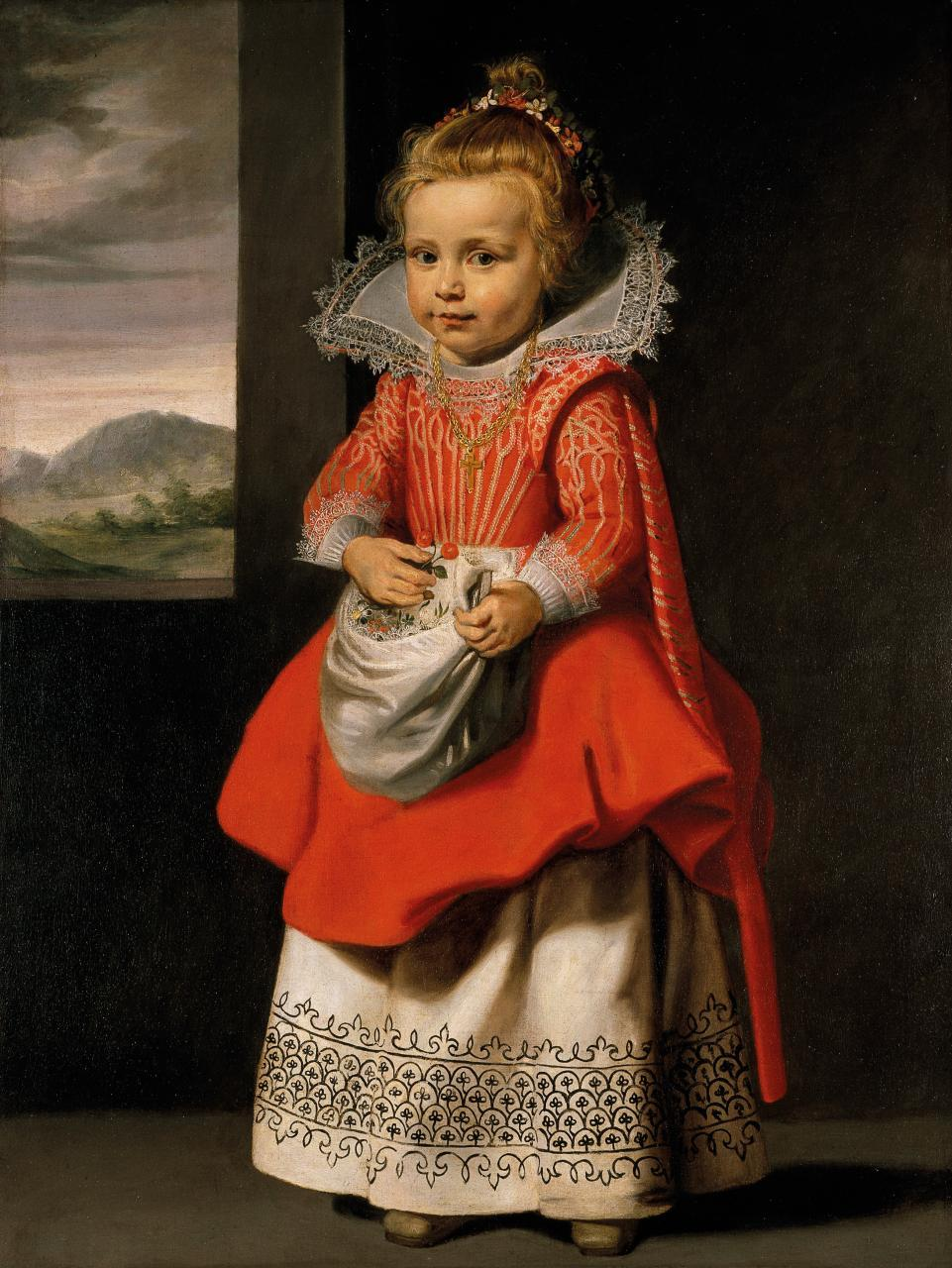 Portrait of the Artist's Daughter, Magdalena De Vos (C.1623-24). Artist: Cornelis de Vos Home & Garden > Decor > Artwork > Posters, Prints, & Visual Artwork ArtToyourlife