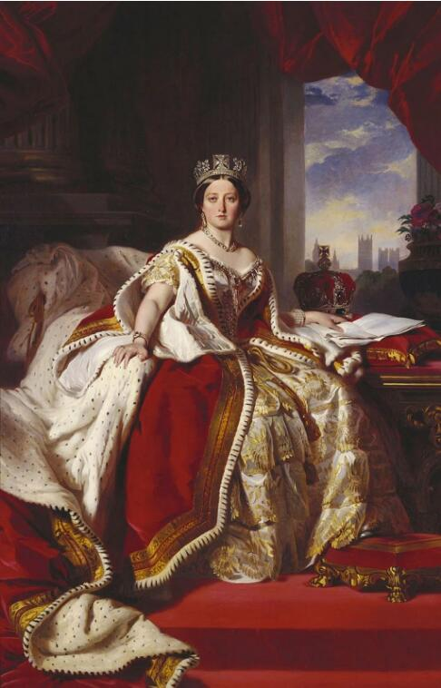 Queen Victoria. (1859). Artist: Franz Xaver Winterhalter Home & Garden > Decor > Artwork > Posters, Prints, & Visual Artwork ArtToyourlife