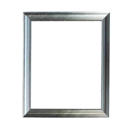 5.5cm Shiny Silver Wood Frame Home & Garden > Decor > Picture Frames Best Portrait Painting