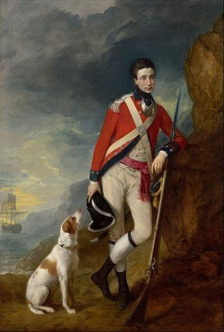 An officer of the 4th Regiment of Foot (c. 1776–1780). Artist: Thomas Gainsborough Home & Garden > Decor > Artwork > Posters, Prints, & Visual Artwork ArtToyourlife