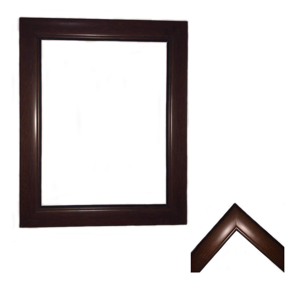 4.5cm Dark Brown Frame Home & Garden > Decor > Picture Frames Best Portrait Painting