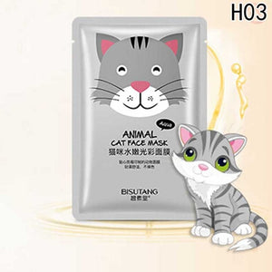 Cute Animal Moisturizing Whitening Oil Control Face Mask