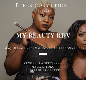 "Maquillage de Soirée Vegan ""My Beauty RDV"" - PLS Cosmetics"