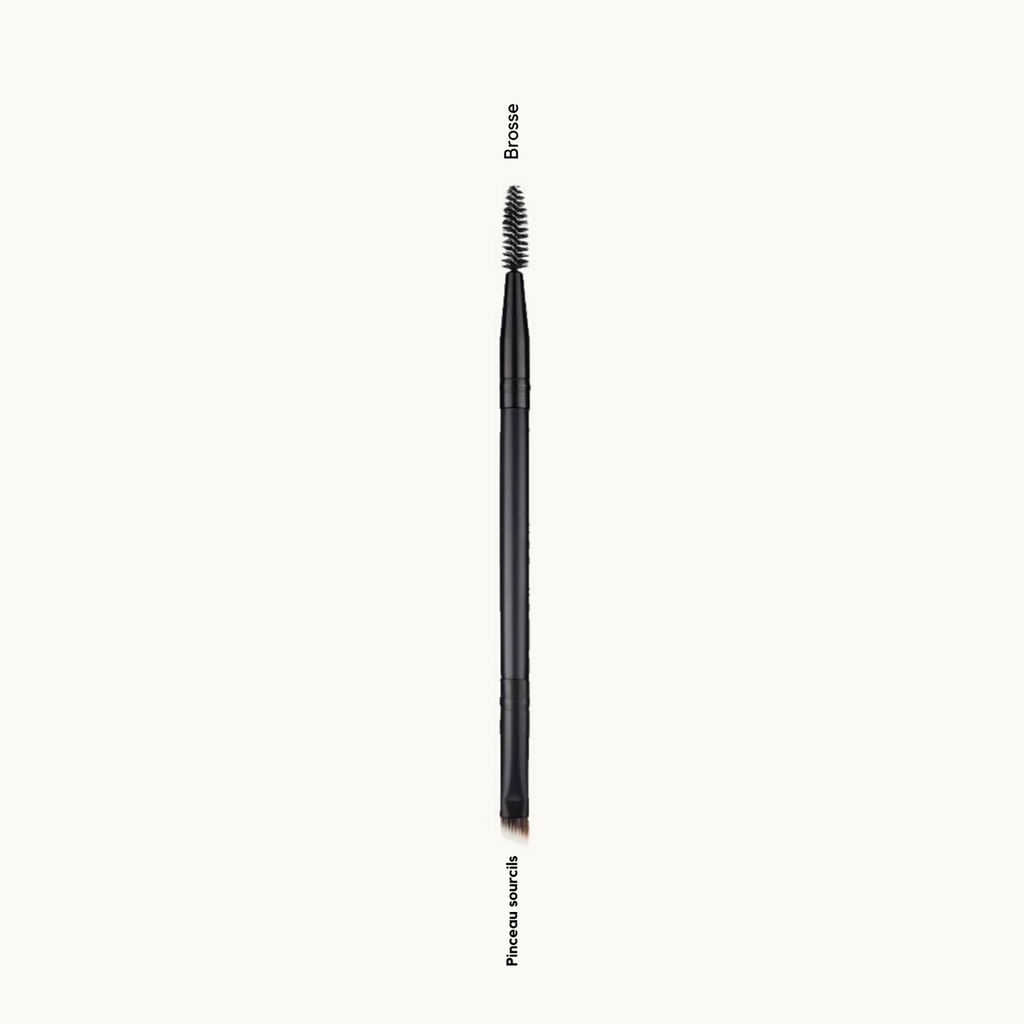 PLS COSMETICS - Pinceau SOURCILS double embout