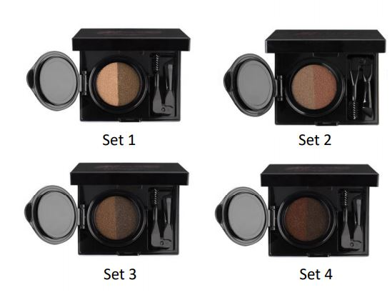 GLAM BROW KIT  tous les SET - pls cosmetics