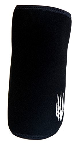 Bear KompleX Elbow Sleeves (Sold AS A Pair of 2) for Weightlifting, Powerlifting, Wrestling, Strongman, Bench Press, Cross Fitness, and More. Compression Sleeves Come in 5mm Thickness Elbow BLK XXL - His Perfect Gifts
