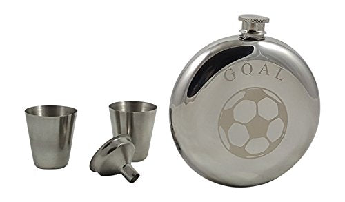 Soccer Flask Gift Set - His Perfect Gifts