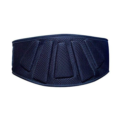 LEBBOULDER Weightlifting Belt for Abdominal Support - Men and Women - 6 Inches Wide, Black - His Perfect Gifts
