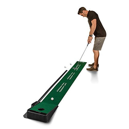 SKLZ Accelerator Pro - Indoor Putting Green With Ball Return (9 feet x 16.25 Inches) - His Perfect Gifts