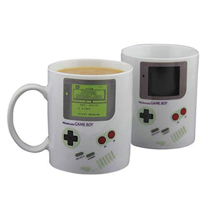 Paladone Gameboy Heat Changing Coffee Mug - Gift for Gamers, Fathers, Coffee Enthusiasts - His Perfect Gifts