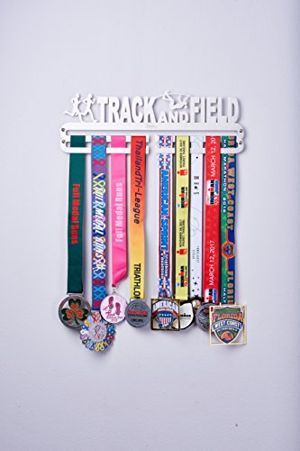 Over 33 Sports Styles Designed Medal Hanger Medal Holder for Every Sport Activity. (Track and Field) - His Perfect Gifts