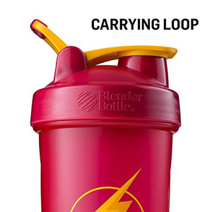 BlenderBottle Justice League Superhero Classic 28-Ounce Shaker Bottle, Superman - His Perfect Gifts