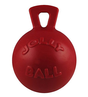 Jolly Pets 10-Inch Tug-n-Toss, Red - His Perfect Gifts