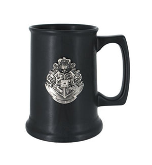 HARRY POTTER 48232  Hogwarts Crest Tall Mug, Multi Color - His Perfect Gifts