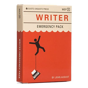 Writer Emergency Pack - His Perfect Gifts