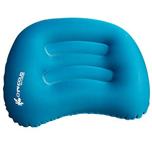 CHANODUG Ultralight Inflatable Travel/Camping Pillow Air Cushion/Pad Small Pack - Compressible, Compact, Portable, Ergonomic Pillow for Neck & Lumbar & Back Support While Camp, Backpacking, Sleeping - His Perfect Gifts