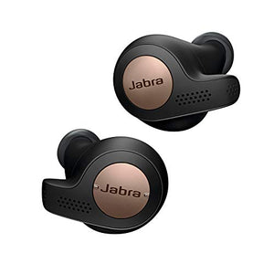 Jabra Elite Active 65t True Wireless Sports Earbuds with 3 Months Free Amazon Music Unlimited & Charging Case, Alexa Optimized - Copper Black - His Perfect Gifts
