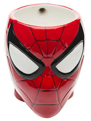 Marvel Comics Coffee Mug, Sculpted, Spiderman - His Perfect Gifts