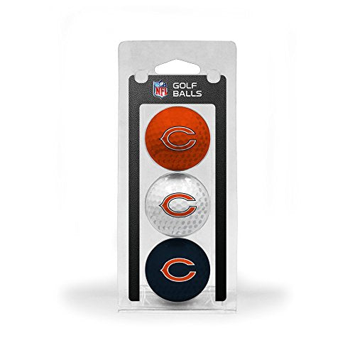 NFL Chicago Bears 3-Pack Golf Balls - His Perfect Gifts