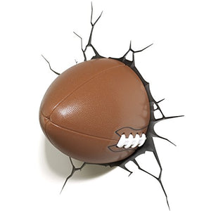 3DLightFX Sports Football 3D Deco Light - His Perfect Gifts