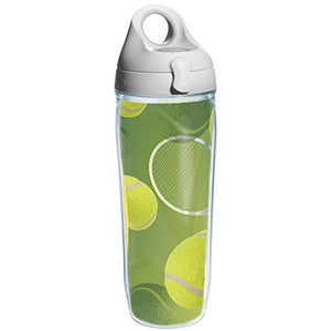 Tervis Tennis Balls Wrap and Water Bottle with Grey Lid, 24-Ounce, Beverage - 1164179 - His Perfect Gifts