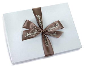 Barnett's Holiday Gift Basket - Elegant Chocolate Covered Sandwich Cookies Gift Box - Unique Gourmet Food Gifts Idea For Men - His Perfect Gifts