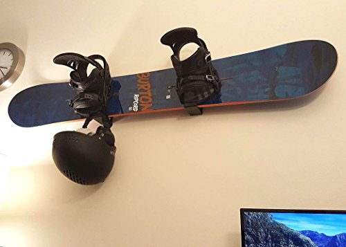 Snowboard Display Rack | Naked Wall Rack | Black - StoreYourBoard - His Perfect Gifts