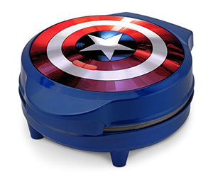Marvel MVA-278 Captain America Waffle Maker, Blue - His Perfect Gifts