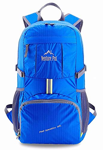 Venture Pal Lightweight Packable Durable Travel Hiking Backpack Daypack (Royal Blue) … - His Perfect Gifts