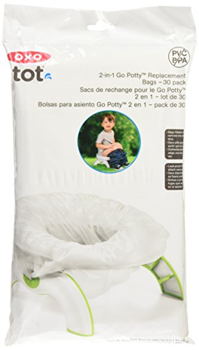 OXO Tot 2-in-1 Go Potty Refill Bags, 30 Count - His Perfect Gifts
