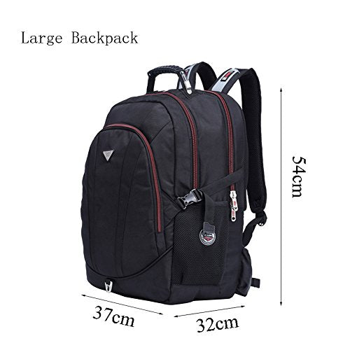FreeBiz 21 Inch High Laptop Backpack fits Under 19 Inch Gaming Computer Notebook MacBook for Men Student (18.4 inch) - His Perfect Gifts