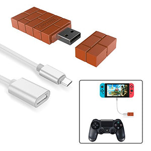 8Bitdo Wireless Controller Adapter for Nintendo Switch,Windows,Mac & Raspberry Pi with a OTG Cable - His Perfect Gifts