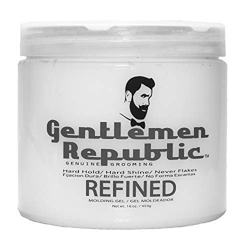 Gentlemen Republic Refined Molding Hair Gel 16 oz - His Perfect Gifts