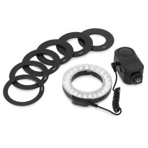 Chromo Inc CI55000230 Macro Ring 48 LED Power Light for Canon, Sony, Nikon, Sigma Lenses - His Perfect Gifts