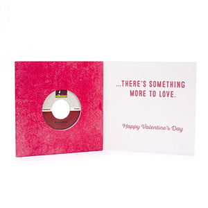Hallmark Valentine's Day Card with Bruno Mars Vinyl Record (Real 45 Record Plays Just the Way You Are and Marry Me) - 1299VCG9996 - His Perfect Gifts