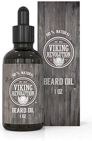 Beard Oil Conditioner- All Natural Unscented Organic Argan & Jojoba Oils - Promotes Beard Growth - Softens & Strengthens Beards and Mustaches for Men (Unscented, 1 Pack) - His Perfect Gifts