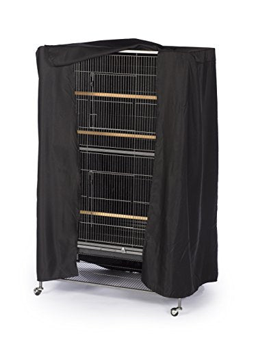 Prevue Hendryx Pet Products Good Night Bird Cage Cover, Large, Black - His Perfect Gifts